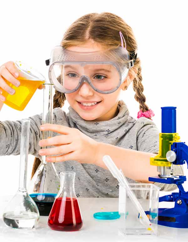 feestkoters science thema